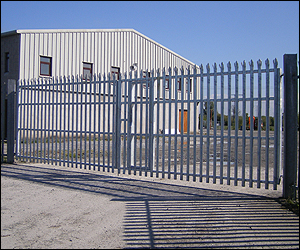 Photo - Steel Gates